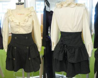 Blouse and Skirt by sixth-child
