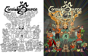 Before After: Consider the Source Poster Design by rahulmukerji