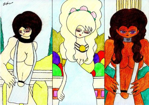 One Domina And Two Slaves by lordtrigonstar