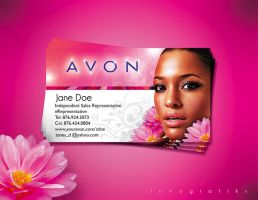 AVON Business Card by innografiks