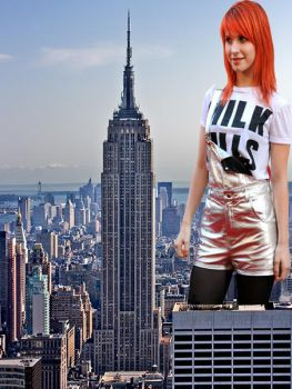 Hayley Williams *Empire State Building* by redcamera777