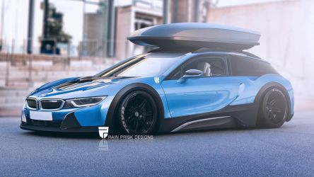 BMW i8 Shooting Brake by rainprisk