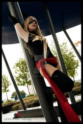 Ms Marvel and column ... by Motoko87