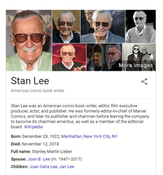 Rest In Peace Stan Lee by cheesecurdfan33