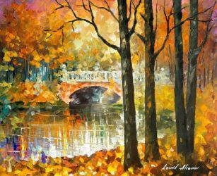 Love In The Air by Leonid Afremov by Leonidafremov