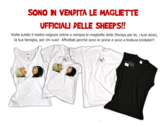 Sheeps t-shirt by teocava