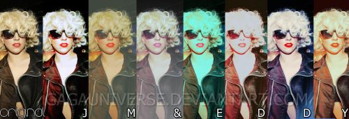 PACK ACTIONS GAGAUNIVERSE by gagauniverse
