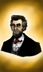 Abe Lincoln by Annieartworld