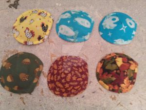 Summer and fall eye patches