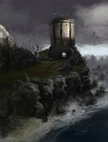 The Tower of House Baelish by PHATandy