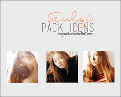 Seulgi - Icons by mayradias