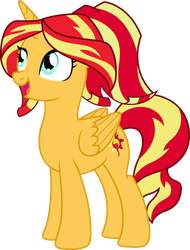 Princess Sunset Shimmer by TheShadowStone