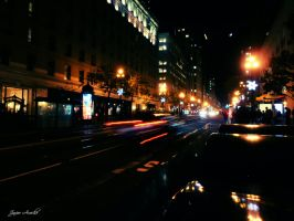 Downtown Lights by aroche