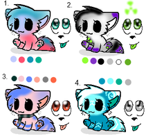 Cheap Adopts by SilverTailTwo