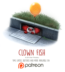 Day 1440. Clown Fish by Cryptid-Creations