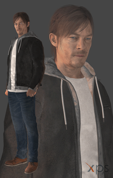 Silent Hills - Norman Reedus by thePWA
