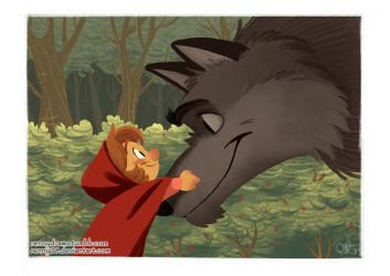 The Big Bad Wolf by Renny08