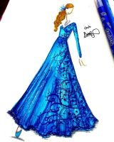 Frozen Gown Inspired by BethzAbonitz