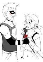 Cupids Arrow - Young Justice by FabulousBendingBros