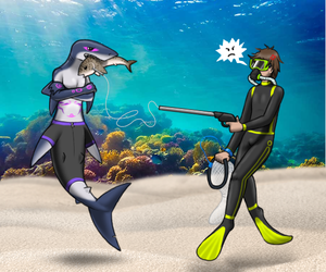 Salty Spearfishing by Stookam