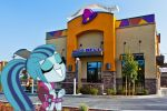 Sonata Dusk and Taco Bell by xxXSketchBookXxx