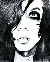Andy Biersack by jessykaka