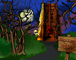 test game background by PeKj