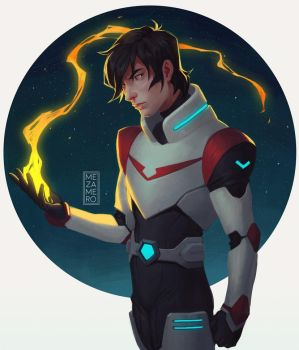 Voltron Keith by Mezamero