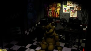 [SFM FNaF 4K] The Unforgetable Night by AwesomeSuperSonic