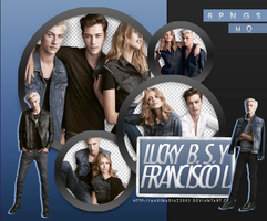 Pack PNG - Lucky Blue y Francisco Lachowski #5 by MarinaDiaz2002