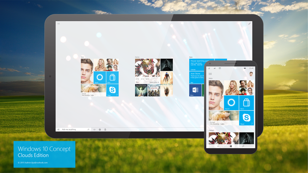 Windows 10 Design concept Family by kalinin-ilya