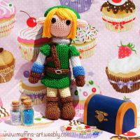Link amigurumi doll by TheArtOfMuffin
