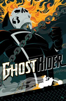 Ghost Rider by MikeMahle