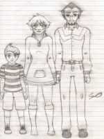 Mother 3 Trio by Agl3