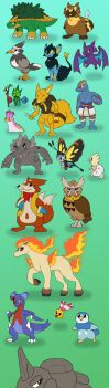 ZeldaLocke - Pokemon Redesigns 2018 by Snowbound-Becca