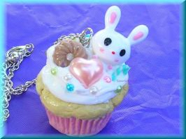 Kawaii Usagi Cuppy Cake by ImperfectKawaii