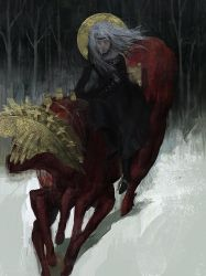Motherland Chronicles #38 - rider by tobiee