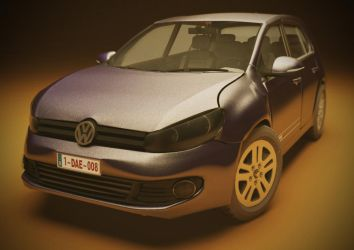 Volkswagen 6  - 3D model by MiekeYperman