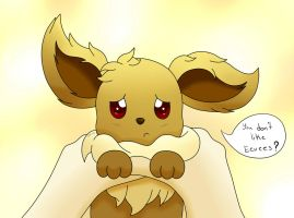 Pokemon - Eevee (You don't like Eevees?...) by ZoruDawn