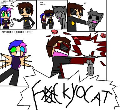 FK YO CAT!! by echoblaze123