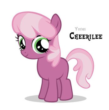 Filly Cheerilee. by Wakko2010