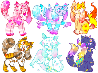Jewelry Kittydogs Auction!!! CLOSED by mihopony