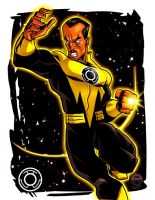 Sinestro VS - 20 Dollar Commission by EryckWebbGraphics