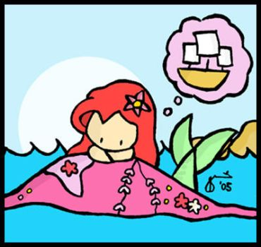 Little Mermaid Dreaming by cippow25