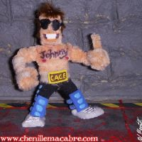 Johnny Cage Figure by the-gil-monster