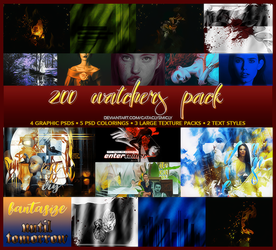 200 Watchers Pack by cataclysmicly