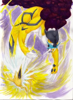 Jolteon Reborn by Silverishness