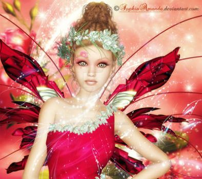 Pink Fairy by SophiaAmanda
