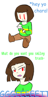 Undertale: Get your Dunkin Donuts on by Psycie