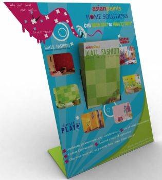 Asian paints brochure holder by paragsankhe